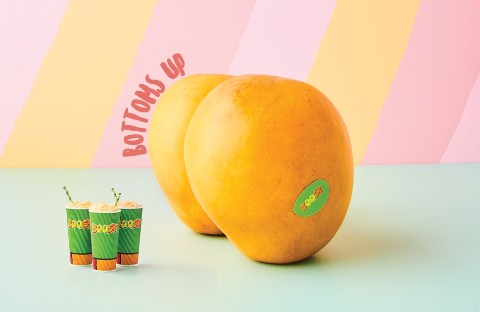 Boost is all about mangoes!