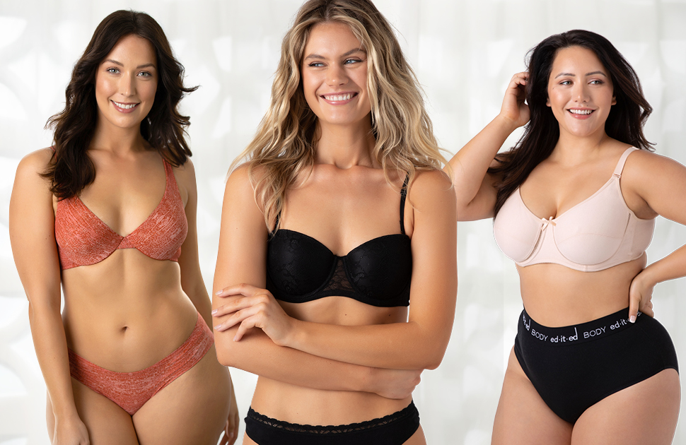 PERFECT FIT bras for everybody. 20% off all ed.it.ed underwear at Best&Less.